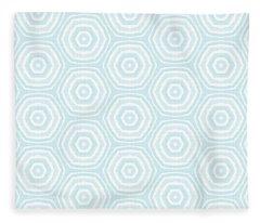 Greetings Cards Fleece Blankets