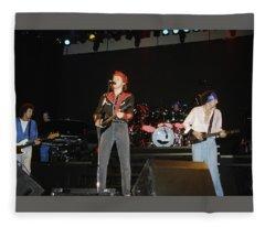 Dire Straits Play Money For Nothin Fleece Blanket