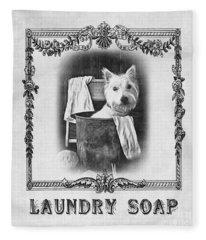 Dirty Dog Laundry Soap Fleece Blanket