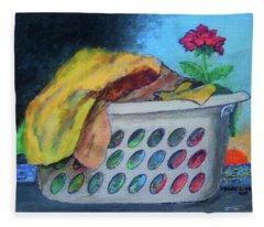 Dirty Laundry Fleece Blanket