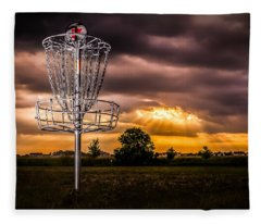 Disc Golf Anyone? Fleece Blanket