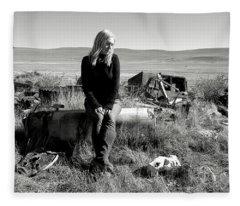 Discarded Fleece Blanket