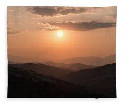 Disciples Of The Sun Fleece Blanket