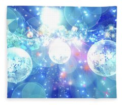 Disco Fever Fleece Blanket
