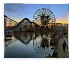 Disney California Adventure Panorama Fleece Blanket