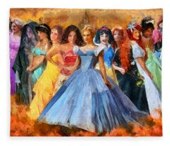 Disney's Princesses Fleece Blanket