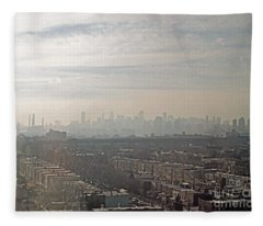 Distant City Fleece Blanket
