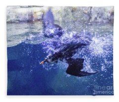 Dive 1 Fleece Blanket