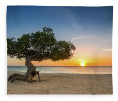 Divi Divi Fleece Blanket