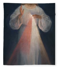 Divine Mercy Fleece Blanket