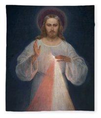 Divine Mercy Fleece Blanket