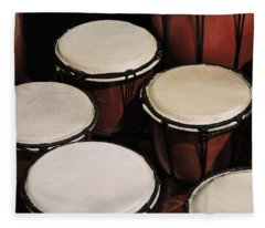 Djembe Fleece Blanket