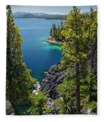 Dl Bliss Lookout By Brad Scott Fleece Blanket
