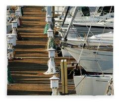 Dock Walk Fleece Blanket