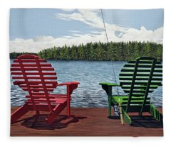 Dockside Fleece Blanket