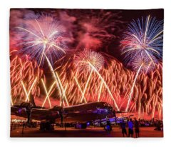 Doc's Fireworks Fleece Blanket