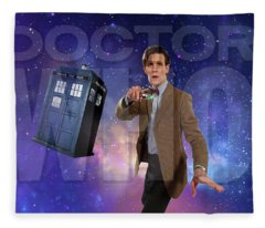 Doctor Who Fleece Blanket