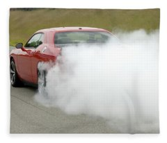 Dodge Challenger Srt8 Fleece Blanket