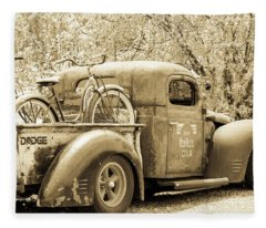 Dodge Truck Fleece Blanket