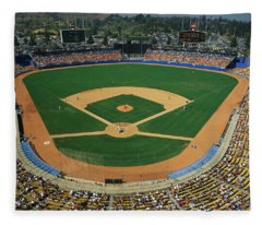 Dodger Stadium Fleece Blanket