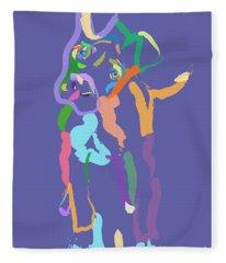 Dog Cookie Fleece Blanket