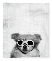 Goggles  Fleece Blanket