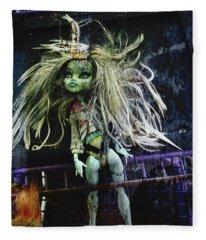 Doll X Fleece Blanket