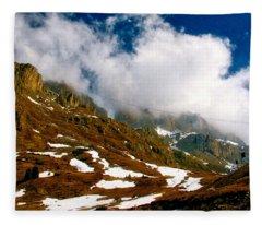 Dolomites 2 Fleece Blanket