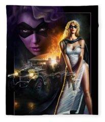 Domino Lady Fleece Blanket