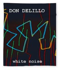Don Delillo Poster  Fleece Blanket
