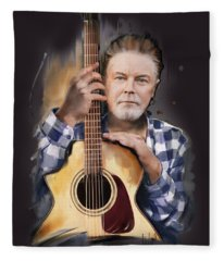 Don Henley Fleece Blanket
