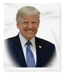 Donald Trump - Dwp0080231 Fleece Blanket