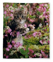 Don't Pick The Flowers Fleece Blanket