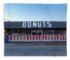 Donut Shop No Longer 3, Niceville, Florida Fleece Blanket