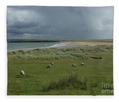 Doogh Beach Achill Fleece Blanket