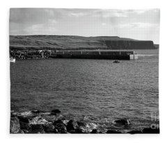Doolin Harbour Fleece Blanket
