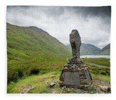 Doolough Valley, Co Mayo Fleece Blanket