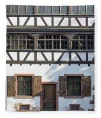 Door And Windows Fleece Blanket