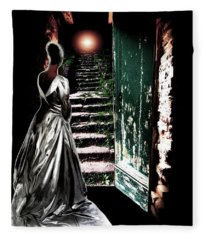 Door Of Opportunity Fleece Blanket