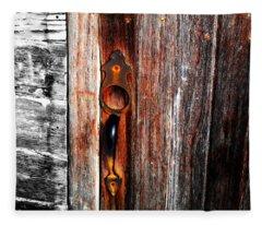 Door To The Past Fleece Blanket