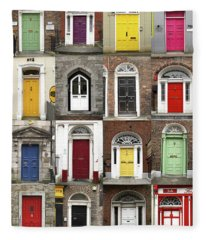 Doors Of Limerick Fleece Blanket