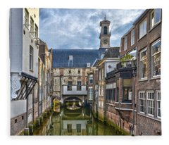 Dordrecht Town Hall Fleece Blanket