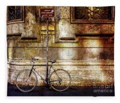 Doria Pamphilj Bicycle Fleece Blanket