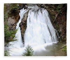 Douglas Falls  Fleece Blanket
