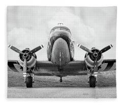 Douglass C-47 Skytrain - Gooney Bird Fleece Blanket