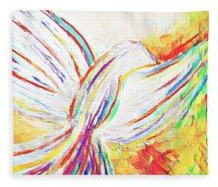 Holy Spirit Fleece Blanket