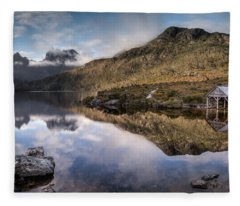 Dove Lake 2 Fleece Blanket