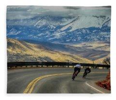Downhill Fleece Blanket