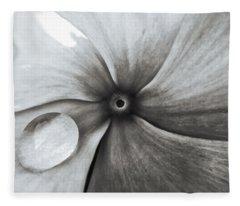 Downward Spiral Fleece Blanket