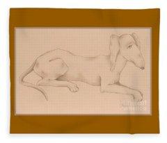 Doxies, Bad To The Bone Fleece Blanket